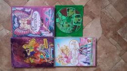 Film 4 szt, Barbie 3 szt, Winx 1 szt,