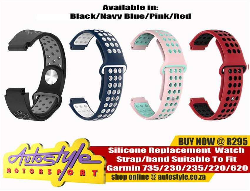Garmin suitable chargers and straps for forerunner 0