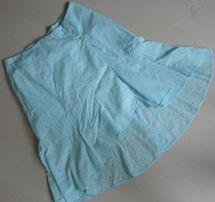 BAY spódnica turkusowa hafty r. 40