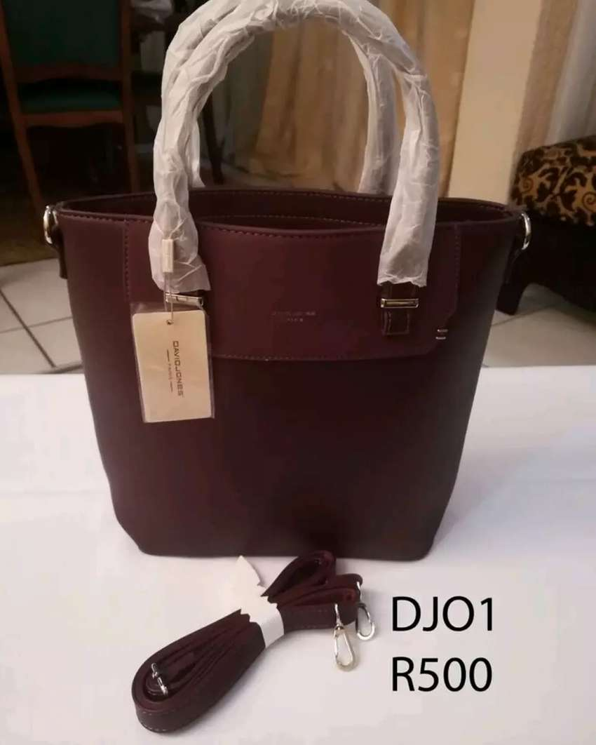 David Jones & Gold Golf High Quality Bag 0