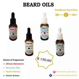 Beard oil and products
