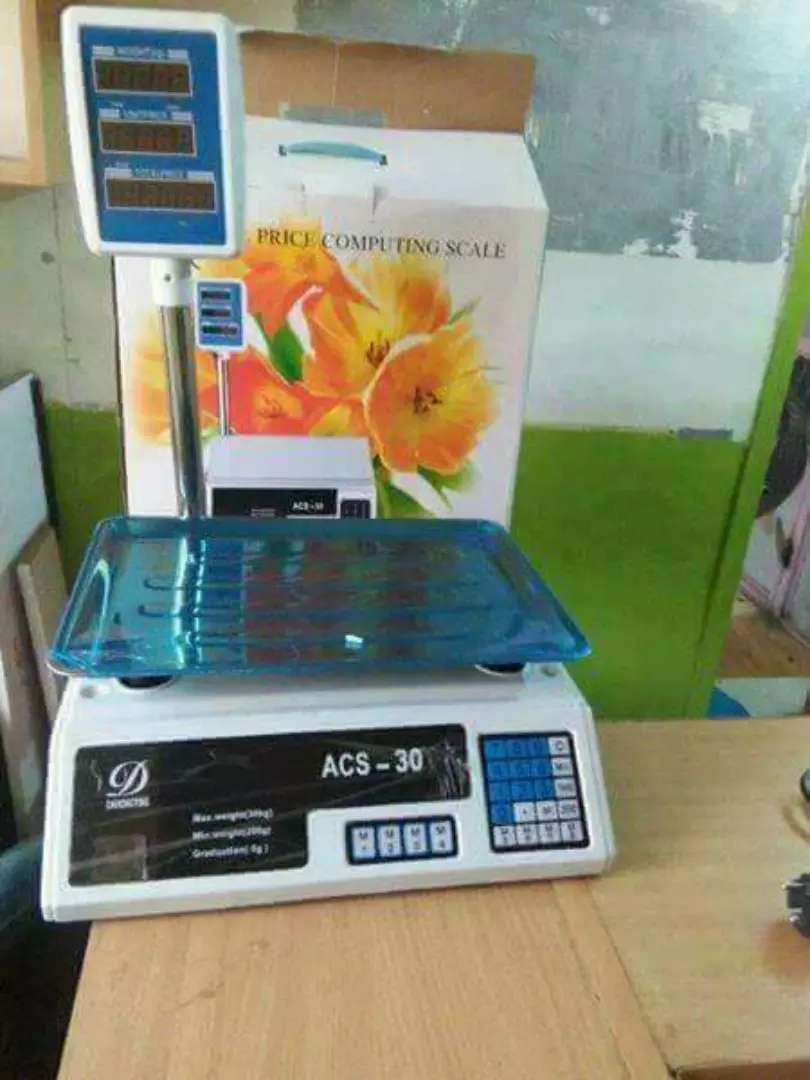 30kgs Digital Scales Brand New 0