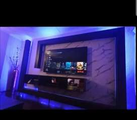 Custom TV stands & Entertainment Centers