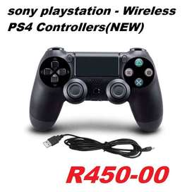 sony playstation - Wireless PS4 Controllers(NEW) Brand: Doubleshock Ab