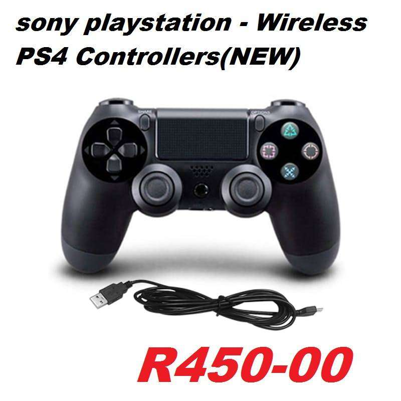 sony playstation - Wireless PS4 Controllers(NEW) Brand: Doubleshock Ab 0