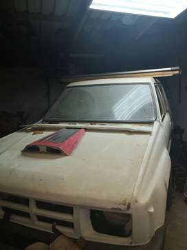 Toyota Hilux Fiberglass double cab unfinished project