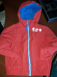Куртка, ветровка на флисе весна-осень 98р.