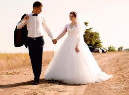 Свадебное платье (айвори), покупалось только для фотосессии