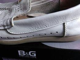Туфли кожанные B&G в школу