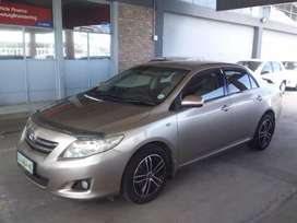 2008 Toyota Corolla 1.6 Advanced manual