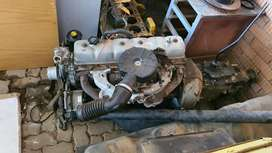 6 cylinder engine and gearbox