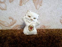 Статуэтка кот, керамика