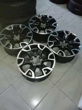 A brand new  set of Toyota Hi lux rims 18 inch now available