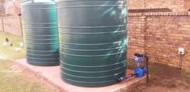 Irrigation sprinklers installation and borehole pumps installation