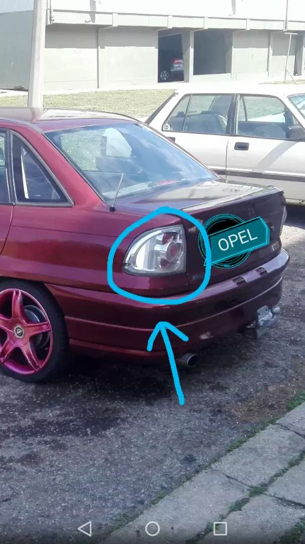 Opel Astra eagle lights for sale 0