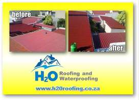 Roofing Contractor, Airless Roof Spray Painting, Roof Repairs, Torch O