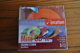 Mini Recordable Discs For CD-R Cameras (new)