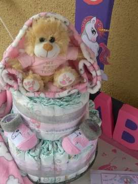 Gift Baskets Hampers Nappy Cakes