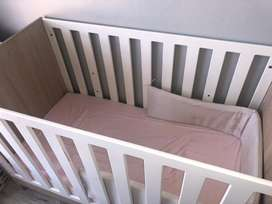 Large Cozy Cot including Mattress for Sales