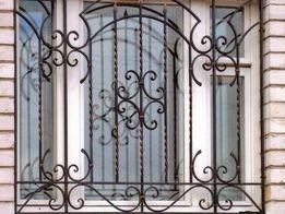 Кованные решётки на окна. От 750грн под ключ.