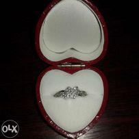Srebrny pierścionek, rozm.17