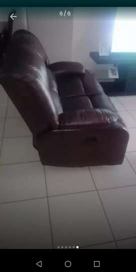 Full Leather Avalon Couches.