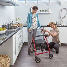R6 Rollator by Drive Medical. Lightweight, Aluminium. On Promotional