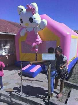 JJumping castle ,tent and 50 chairs