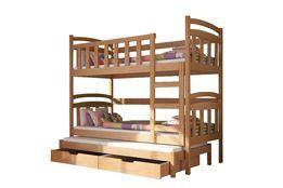 Eleganckie łóżko piętrowe dla 3 osób DAMIAN ! Super cena ! Promocja !