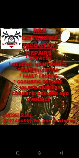 R&R motorbike/ scooter services