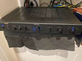RotelRA05SE integrated amplifier and Supra LoRad power cable (together