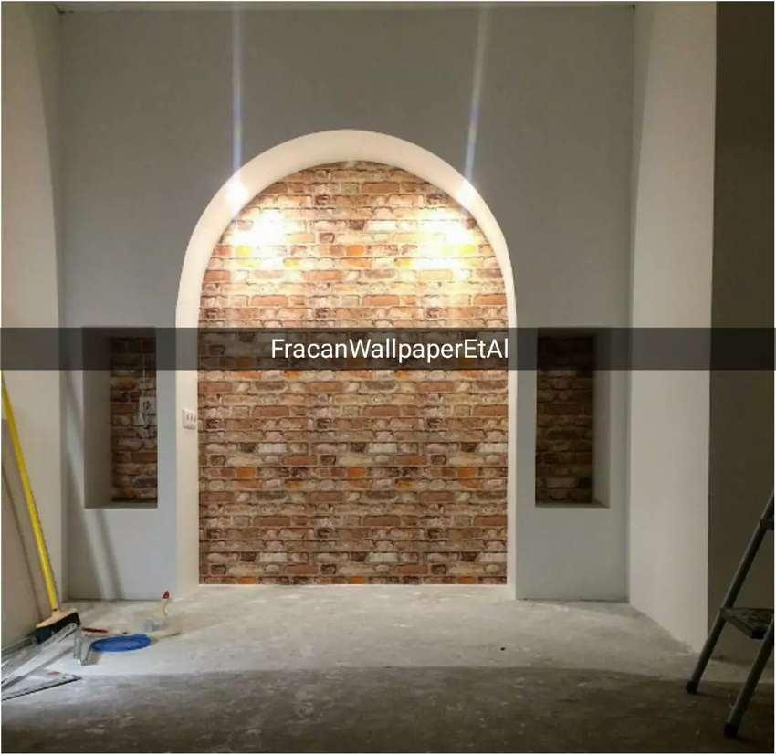 Projected brick wallpapers now available 0