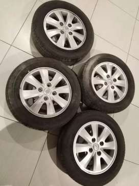 Avanza rims and new tyres