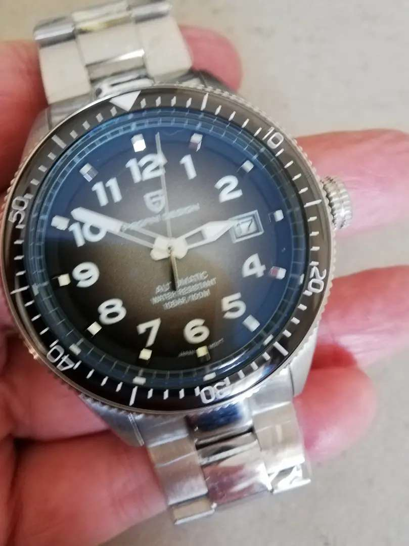 Pagani Design 43mm Mens Automatic 100m Divers Watch 0