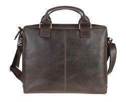 Кожаная мужская сумка натуральная кожа ручная sullivan