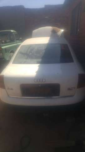 Audi A6 2.7 Attention needed