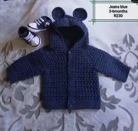Crochet baby cardigans/jackets to order