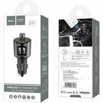 Трансмиттер (FM Модулятор) Bluetooth 3в1 Hoco e19