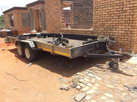 Car trailer for hire