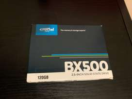 Brand new, never used SDD 120gb