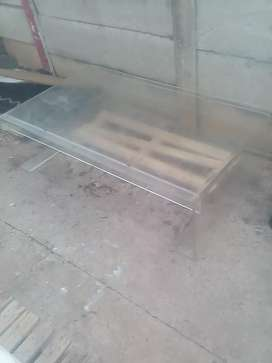 Large Perspex coffee table ideal for a nice Jagarmeister sticker