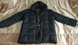 Зимние мужское пуховик-пальто