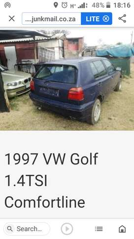 VW Golf 3 non runner for sale