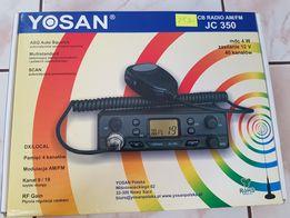 CB radio Yosan JC 350 jak nowe! Rachunek zakupu!