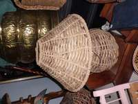 Image of Woven lamp for sale