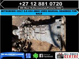 Mitsubishi colt 2.8 4x4 4m40 used manual gearbox for sale