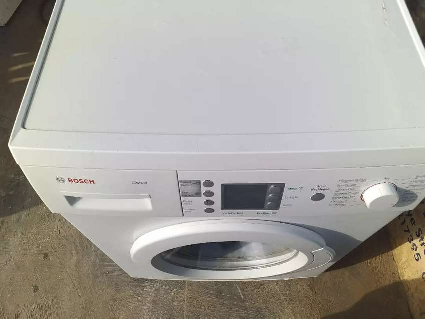 Bosch digital automatic front loader washing 0