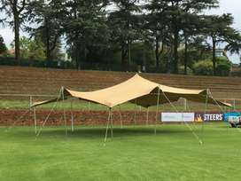 STRETCH TENTS for sale (used)