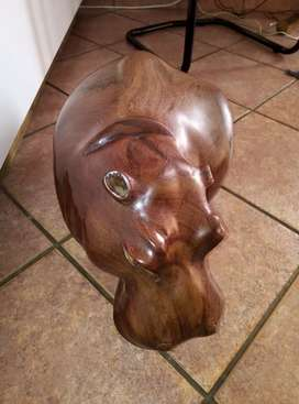 Zambian crafted hippo selling in pmb.