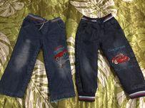 продам утепленные джинсы на мальчика 4 года